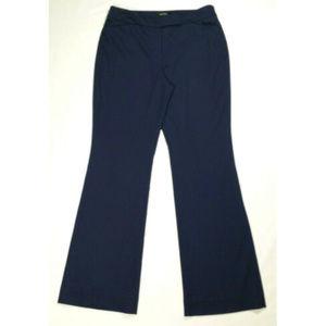 *SOLD*12 WHBM Flare Leg Dress Pants Trouser Slacks